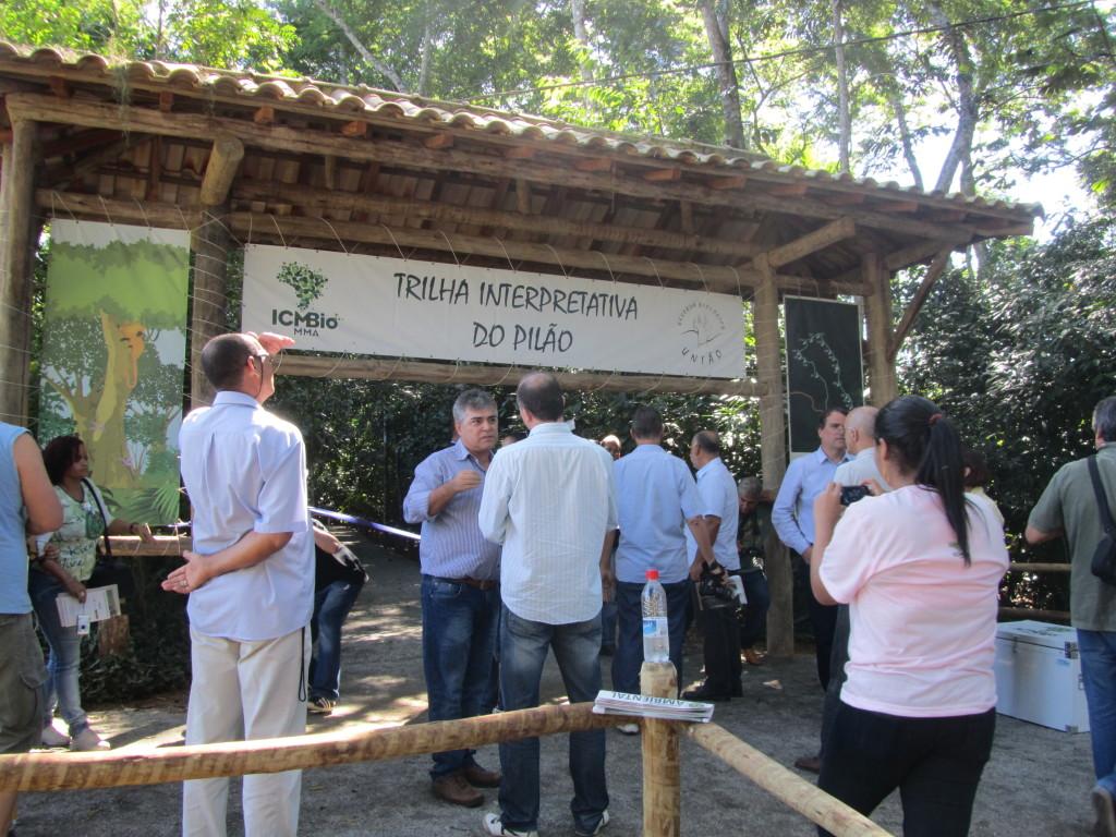 Trilha do Pilão (Foto de: http://www.funbio.org.br/)